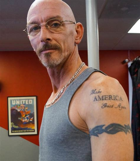 tattoo of us donald trump we asked people why they got tattoos of donald trump