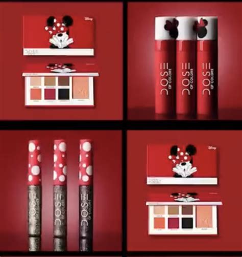 dose of colors cosmetics dose of colors cosmetics minnie mouse line