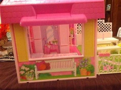 barbie folding doll house barbie folding doll house vintage