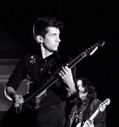 Arctic Monkeys White alex turner black and white www imgkid the image