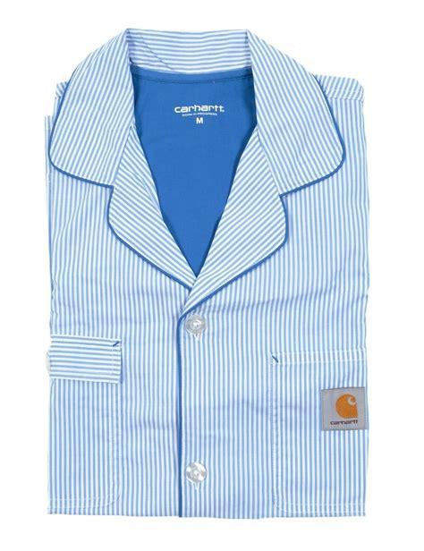 carhartt wip pajama set sky blue carhartt wip from