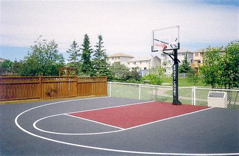 sport court calgary alberta home courts backyard