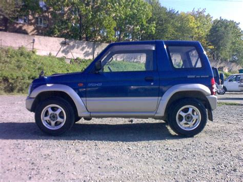 mitsubishi mini dimensions 1997 mitsubishi pajero mini pictures information and