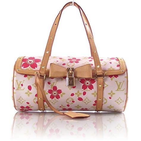 lv cherry blossom iphone cherry blossoms louis vuitton cherry blossom papillon bag purse pink lv