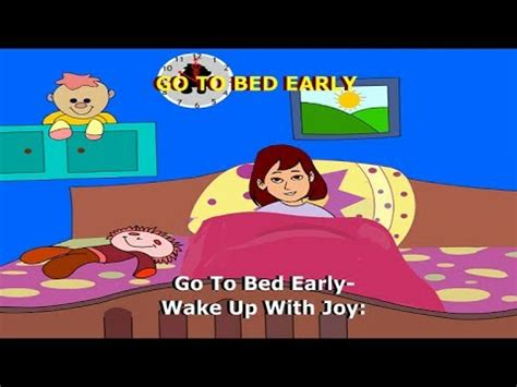 How To Go To Bed Earlier by Go To Bed Early Children Nursery Songs