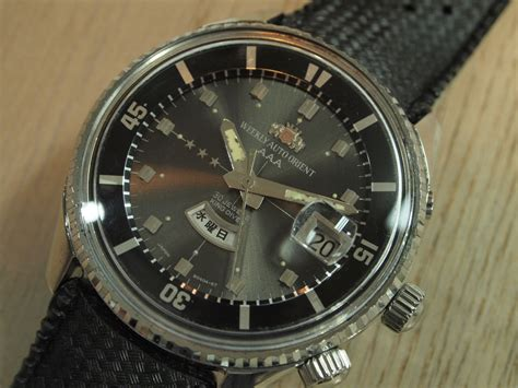 Orient Aaa 楽天市場 orient aaa king diver オリエント aaa キングダイバー 自動巻き 中古