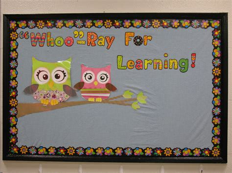 Be Owl Bordir Soft owl bulletin board and decorating ideas for classroom classroom decorations owl
