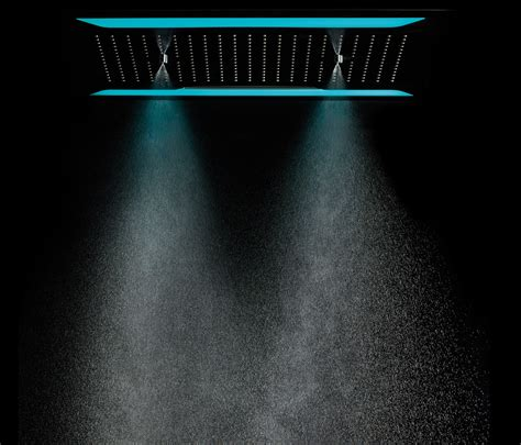 Shower Mist by Aquamist Overhead Shower With Mist Cascade And
