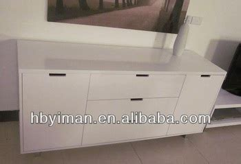 white lacquer buffet cabinet mdf with white high gloss lacquer finish buffet cabinet