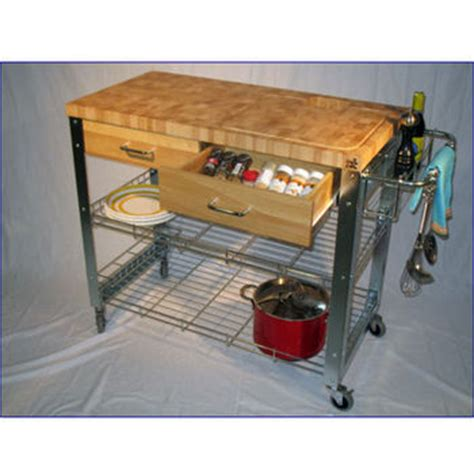 Chris And Chris Kitchen Cart by Chris Chris Stadium Kitchen Workstation Cart End Grain
