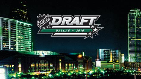 draft nhl 2018 2018 nhl draft presented by adidas american airlines center