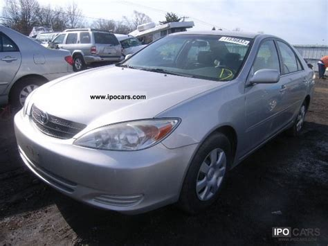 toyota camry 2004 model specifications 2004 toyota camry car photo and specs