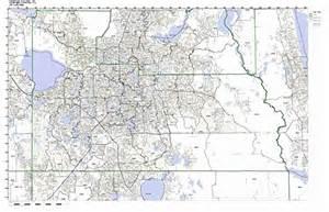orange county florida zip code map zip code map florida counties images