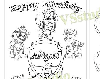custom happy birthday coloring pages personalized happy birthday coloring pages murderthestout