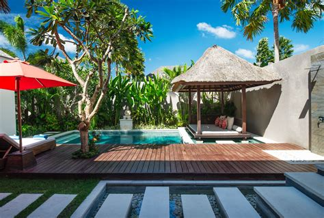 2 Bedroom Villas In Seminyak Bali by Two Bedroom Villa Pool Deck Chandra Bali Villas Seminyak