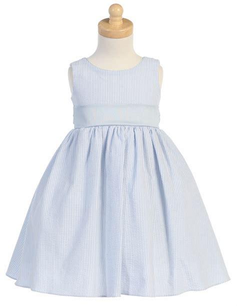 light blue and white striped dress light blue striped cotton seersucker dress