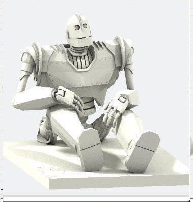 iron giant  model  printable obj cgtradercom