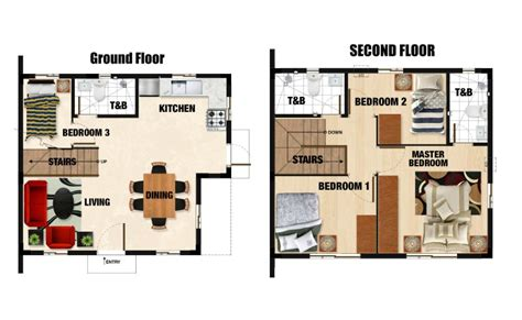 Camella Homes Drina Floor Plan | drina model camella bulakan