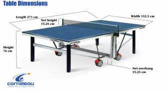 dimensions of ping pong table table tennis table measurements size and dimensions