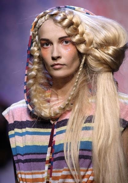 hairstyles for women in paris france spring summer runway hairstyles can you pull this off