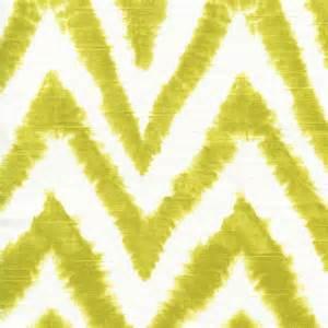 diva ikat curtain diva artist green chevron stripe ikat slub by premier