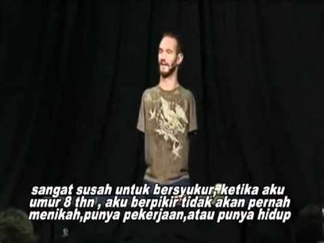 teks biografi nick vujicic nick vujicic teks indonesia youtube