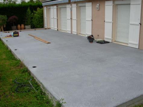 Terrasse En Ciment by Terrasse En Beton Nos Conseils