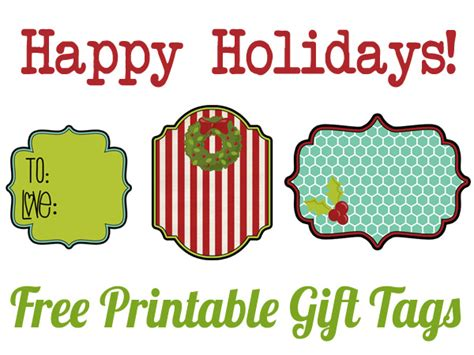 free printable gift tags happiness is