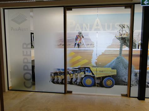 design ideas vision glass boost your corporate image in your office with one way