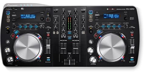 console dj pioneer xdj aero wireless all in one dj system for rekordbox