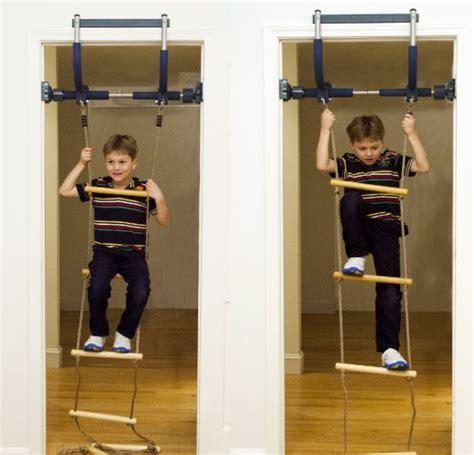 swinging gym gorilla gym kids deluxe with indoor swing plastic rings