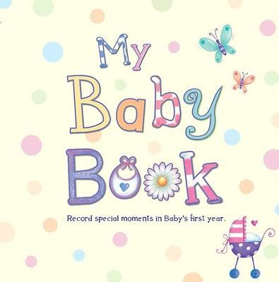 Baby Birth Record Book Self Help Psychology Baby Record Book My Baby Book