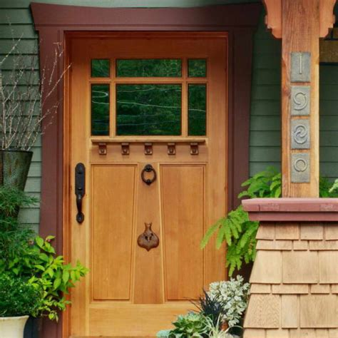 unique front doors arts and crafts fiberglass doors