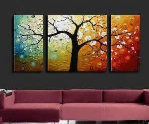 Home Decoration Paintings by Trees And Canvases On Pinterest