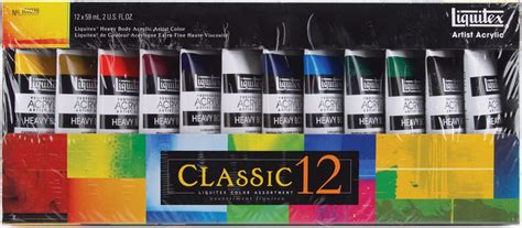 acrylic paint set kmart liquitex heavy acrylic paint 2 ounce 12 pkg