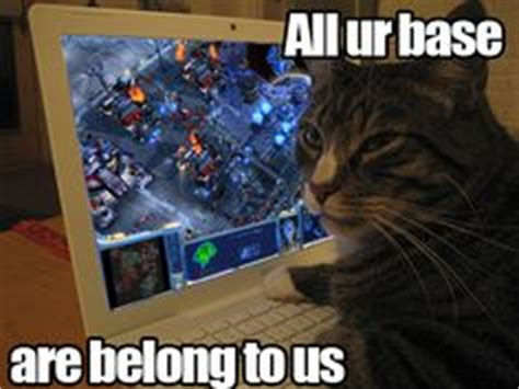 All Your Base Meme - all your base are belong to us cats favorite memes