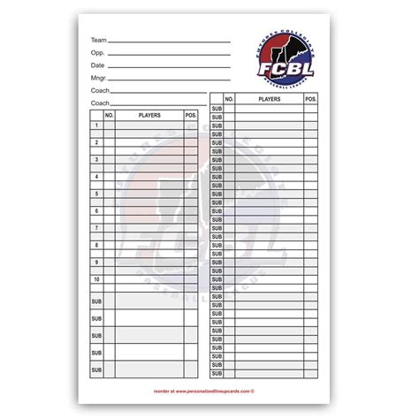 ayso card template lineup card edittouchshare ayso perforated official line