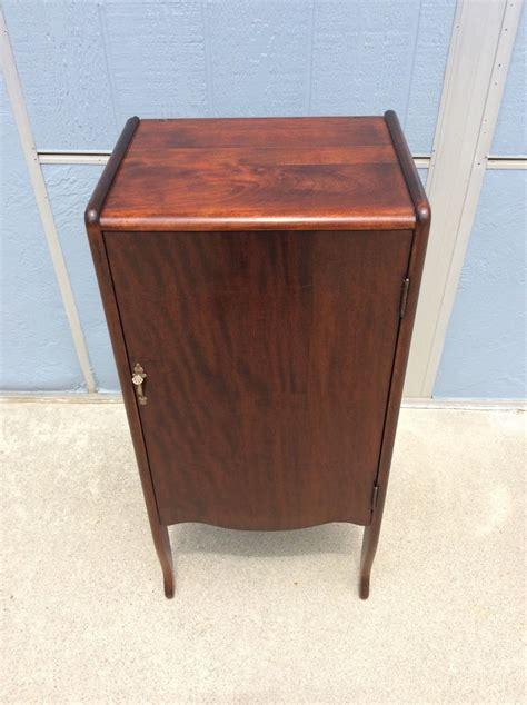 antique music cabinet record stand haute juice
