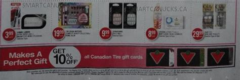 Grocery Gift Cards Online Canada - shoppers drug mart canada 10 off canadian tire gift