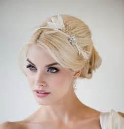 fascinators for hair most beautiful bridal fascinator headband trendy mods