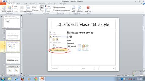 membuat powerpoint slide master catatan seorang perantau cara membuat presentase slide