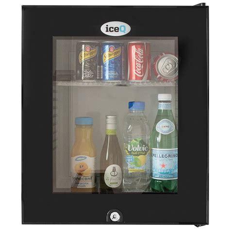 Glass Mini Bar Iceq 24 Litre Glass Door Mini Bar