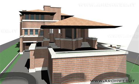 3d House Model robie house 3d di f l wright