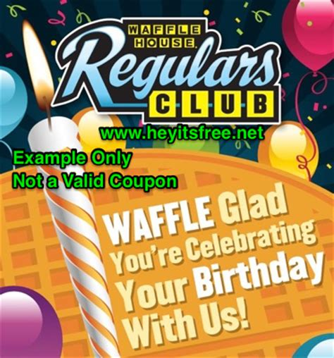 waffle house birthday waffle house birthday freebie hey it s free