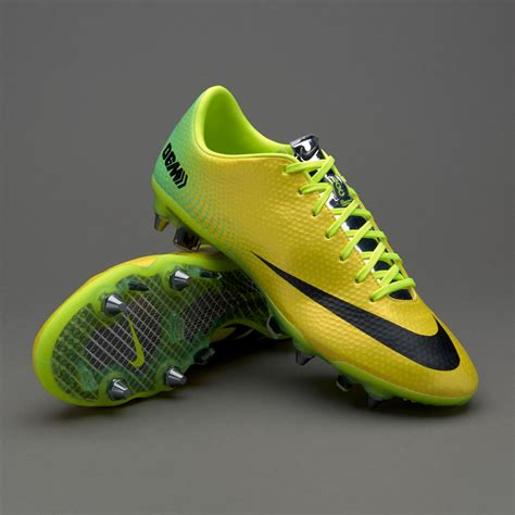 sepatu bola nike original mercurial vapor ix fast forward 06 edition sg pro yellow black lime