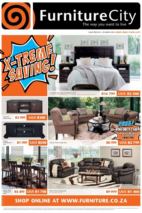 Valley City Furniture by Extreme Savings On Lounge And Bedroom Furniture