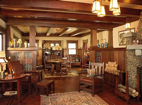 Craftsman Style Homes Interiors 1000 Images About Homes On