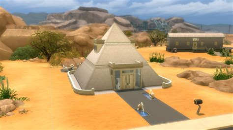 The Sims 4   House Building   Modern Pyramid   YouTube
