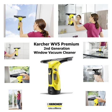 karcher wv premium  generation window vacuum cleaner