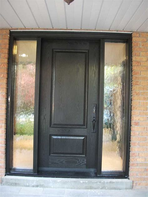 Solid Exterior Door Windows And Doors Toronto Front Entry Doors Fiberglass Doors Modern Doors Wood Grain Door Solid